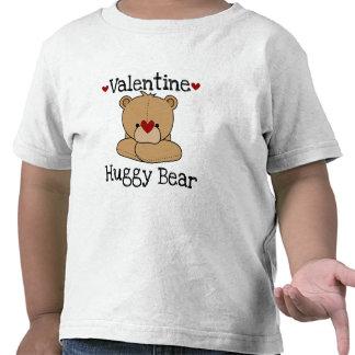 Camiseta del niño del oso de Huggy de la tarjeta d