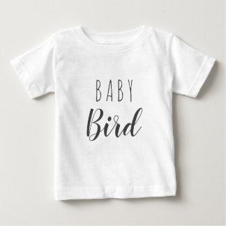 Camiseta del niño del pájaro de bebé