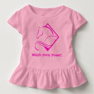 Camiseta del niño del poder del potro galés