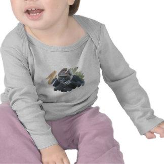 Camiseta del niño del primate del gorila