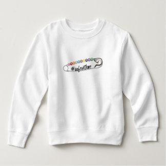 Camiseta del niño del #SafeWithMe