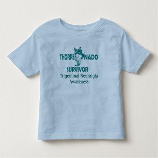 Camiseta del niño del superviviente de Thorpenado