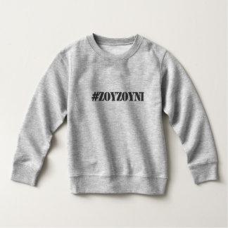 Camiseta del niño del #ZOYZOYNI