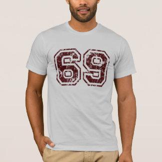 Camiseta del número 69