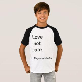 Camiseta del odio del amor no