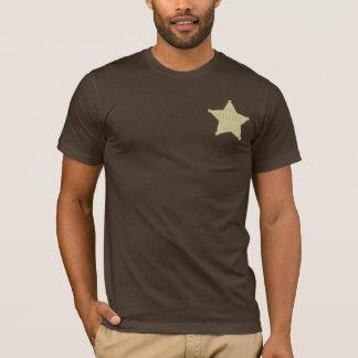 Camiseta del oeste salvaje del fiesta de la