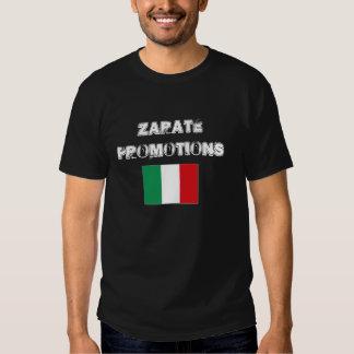 Camiseta del orgullo de Italia de las promociones