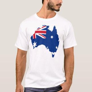 Camiseta del orgullo de la camisa de la bandera