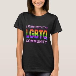 Camiseta del orgullo del arco iris de LGBTQ