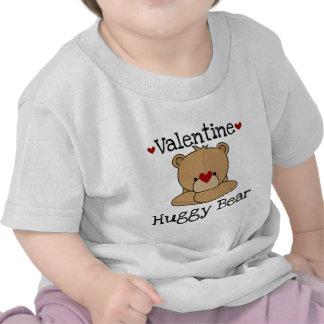 Camiseta del oso de Huggy de la tarjeta del día de