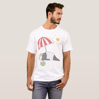Camiseta del oso de panda del verano