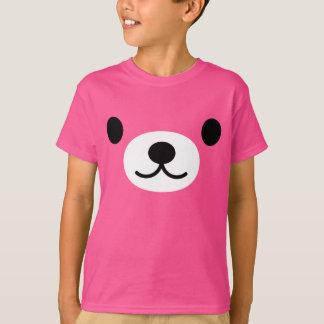Camiseta del oso del peluche del niño