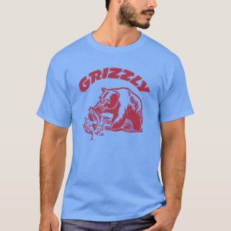 Camiseta del oso grizzly