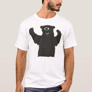 Camiseta del oso negro