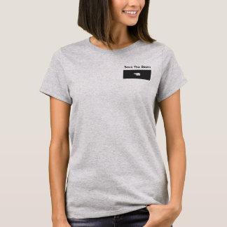 Camiseta del oso polar de las mujeres