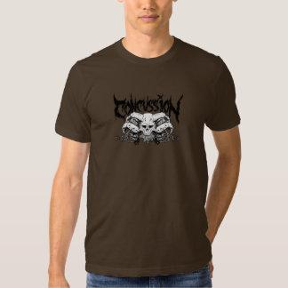 Camiseta del Overlord de la conmoción cerebral