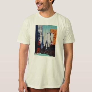 Camiseta del paisaje urbano de San Francisco