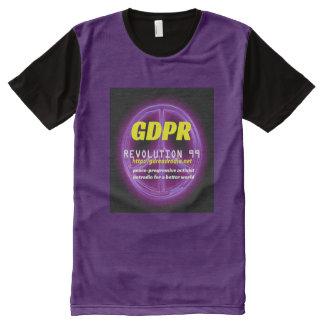 Camiseta Con Estampado Integral Camiseta del panel de Paxspiration GDPR American