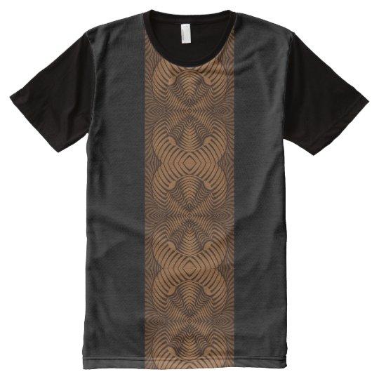Camiseta del panel; diseño tridimensional 001 de