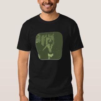 Camiseta del papá de los escritos (versión verde)