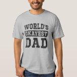 Camiseta del papá de Okayest del mundo del vintage
