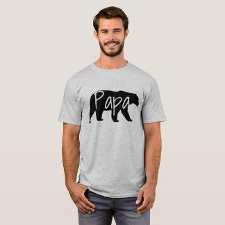 Camiseta del papá del oso de la papá