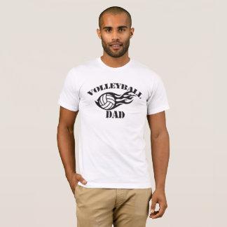 Camiseta del papá del voleibol