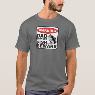 Camiseta del papá - los pescados se guardan