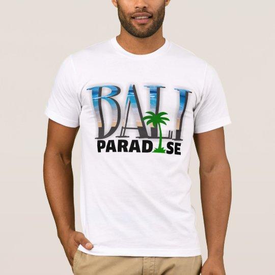 Camiseta del paraíso de Bali