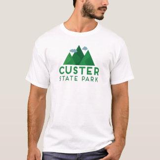 Camiseta del parque de estado de Custer - montaña