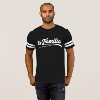 Camiseta del partidario de los hombres de Familia
