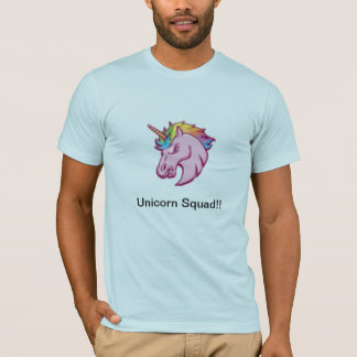 Camiseta del pelotón del unicornio