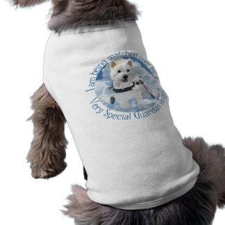 Camiseta del perrito - ángel de guarda