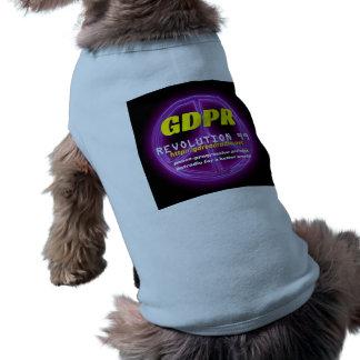 Camiseta del perrito de Paxspiration GDPR Camiseta Sin Mangas Para Perro