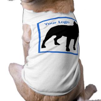 Camiseta del perrito del perro de la CAMISA - modi Camiseta Sin Mangas Para Perro