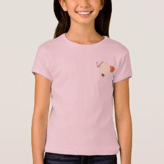 Camiseta del perrito por el Bajo-oído