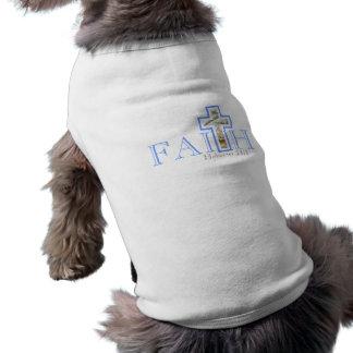Camiseta del perro de la fe