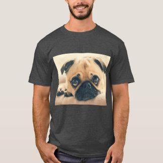 Camiseta del perro del barro amasado