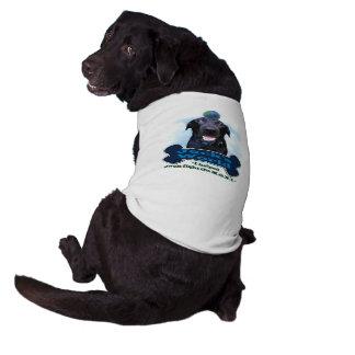 Camiseta del perro del mundo de Jack