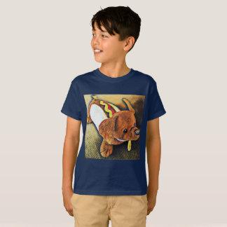 Camiseta del perro del perrito caliente