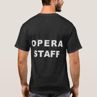 Camiseta del personal de la ópera de la ciudad de
