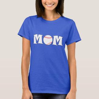 Camiseta del personalizado del nombre de la mamá