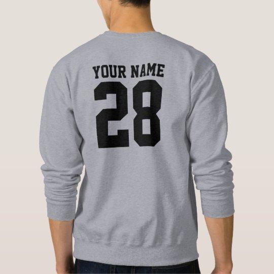Camiseta del personalizado del nombre y del número