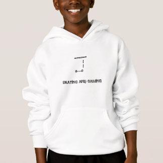¡Camiseta del personalizado del patinaje y del