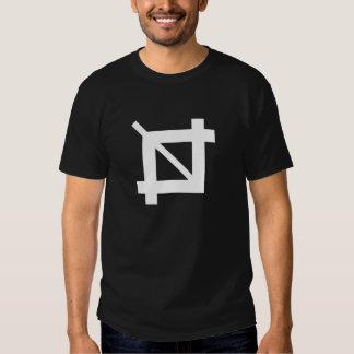 Camiseta del pictograma de la herramienta de la