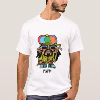 camiseta del pimpin del rasta