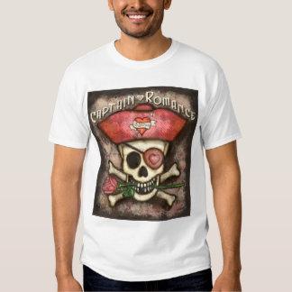 Camiseta del pirata del el día de San Valentín de