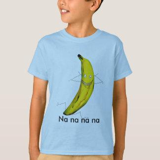 Camiseta del plátano del na del Na