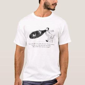 Camiseta del poema de la barba de Edward Lear de
