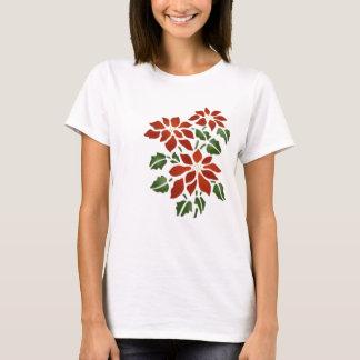 Camiseta del Poinsettia